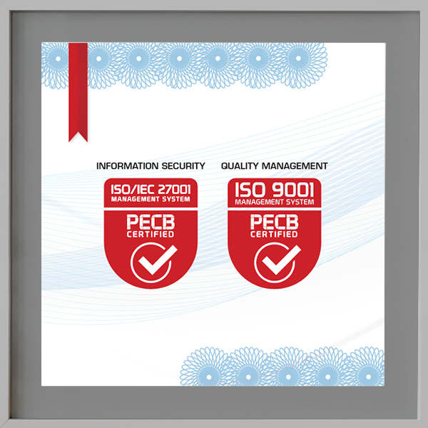 ISO 9001 ISO 27001