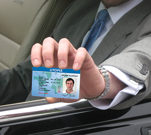 Driving license security