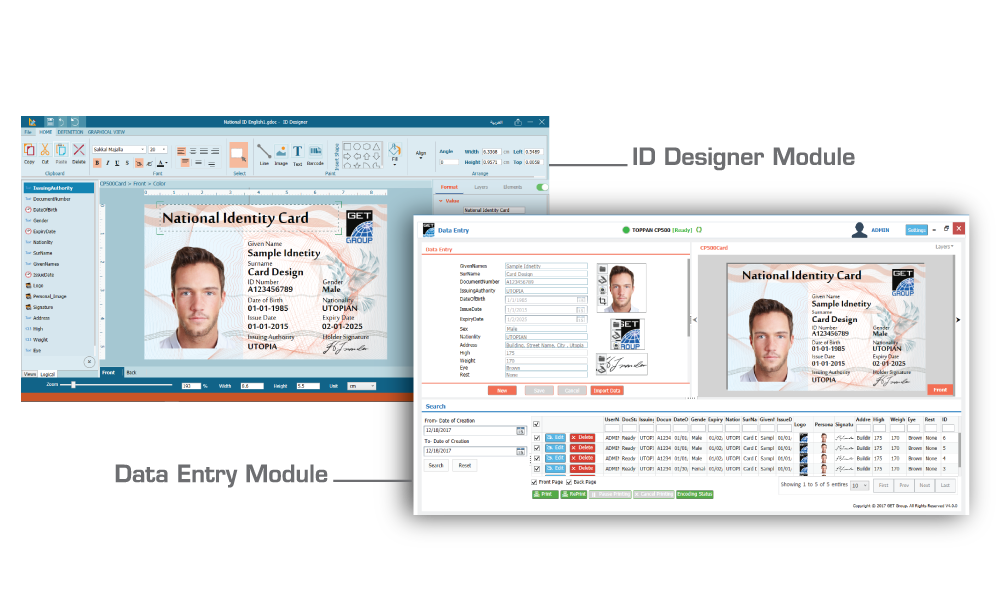 GET Identity Card Personalization